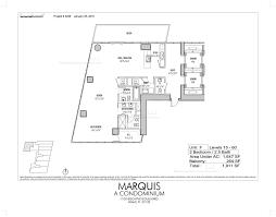 marina blue floor plans marquis miami floor plans marquis floor plans for luxury condo