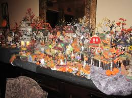 miniature halloween village halloween village thraam com