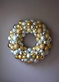 silver and gold ornament wreath 2 is sweet as a