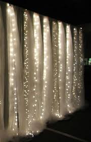 wedding backdrop using pvc pipe curtain made of lights decorate the house with beautiful curtains