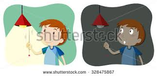 Turn The Light On Turn Off Light Stock Images Royalty Free Images U0026 Vectors