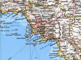 Italy Cities Map by Naples Map