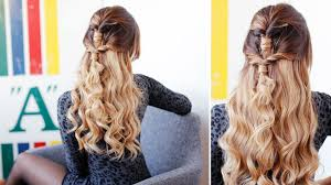 cute u0026 easy prom hairstyle luxy hair youtube