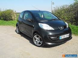 black peugeot for sale peugeot 107 urban black door cheap insurance first car no reserve