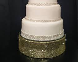 bling cake stand bling cake stand etsy