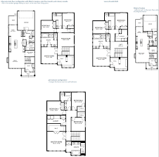 residential floor plans luminoso 2464 sq ft 3 bedroom 2 5 bathroom rear garage protech