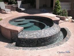 custom designed inground spas carefree pools