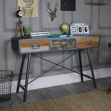 Industrial Console Table Futuristic Industrial Console Table