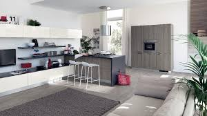 kitchen livingroom contemporary kitchens for large and small spaces