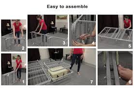pragma bed pragma adjustable metal bed frame raises head and feet