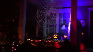 scary halloween on the front porch youtube
