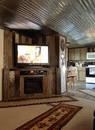 interior decorating mobile home mobile home renovation professional artist creates rustic