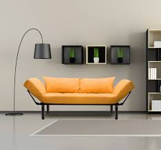 Yellow Sleeper Sofa Merax Colorful Line Fabric Futon Sofa Sleeper
