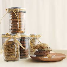 gift ideas cookies in a jar treading lightly