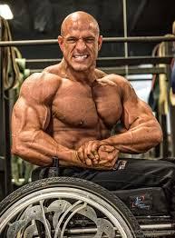 Bodybuilder Bench Press Wheelchair Bodybuilding Bench Press
