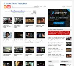 templates blogger español 26 best free video blogger template like youtube techclient