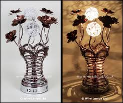 Vase Table Lamp 14 Best Red Wire Lamps Images On Pinterest Modern Luxury