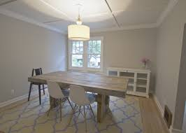 West Elm Dining Room Decoration Design With Chic Crystal Brown