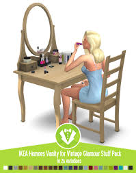 Download Vanity Around The Sims 4 Custom Content Download Objects Ikea