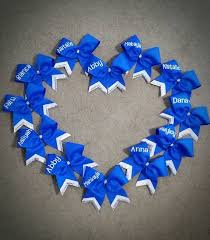 personalized bows 129 best cheer bows images on cheer bows cheerleading