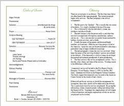 funeral bulletin classic funeral program template memorial service bulletin