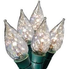 general electric string a long 70ct c5 crystal light set clear
