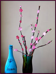 cherry blossom home decor a kaleidoscopic dream diy cherry blossom decor
