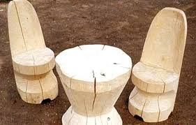 tables made from logs diy log furniture table and chairs made of wood logs making cedar