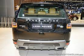 range rover sport 2017 2018 range rover sport at dubai motor show 2017 rear indian