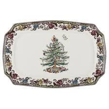 spode tree grove platter dishes tabletop