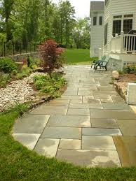 Dry Laid Bluestone Patio by Flagstone Patio And Dry Creek Bed Designed By Mary Kirk Menefee