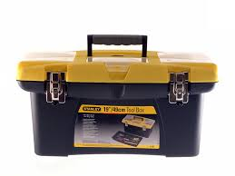 Tool Box Stanley 1 92 906 Jumbo Toolbox 19 Inch With Tray Old Version