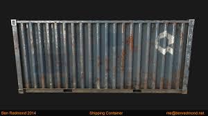 ben redmond shipping container