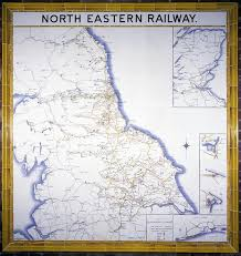 eastern map ceramic tile map of eastern railway science museum