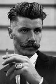 mens prohibition hairstyles i want someone i know to rock this haircut and stache hair and