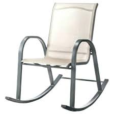 Sling Patio Chairs Rocking Chair Patio Furniture Room Sling Patio Rocking Chair Tan