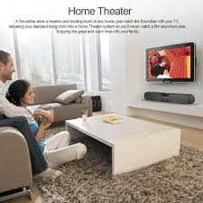 soundbar home theater system tv speakers sound box bluetooth sound bar wireless soundbar home
