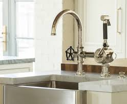 Custom Kitchen Faucets Fashioned Kitchen Faucets With Vintage Style Decorations 2