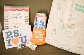 wedding gift bags for hotel laid back ace hotel palm springs wedding alana green