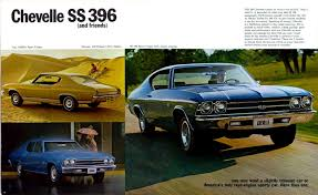 1969 chevelle dealer brochures