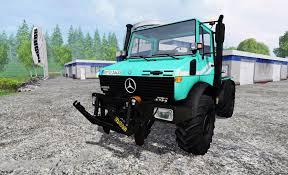 mercedes unimog truck mercedes unimog u1600 truck mod farming simulator 2017
