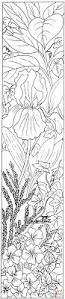 letter i with plants coloring page free printable coloring pages