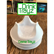 Drink Coasters by Drink Trayz 3 Pack Game Trayz