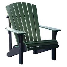 Breezesta Coastal Bar Chair by Amish Deluxe Poly Adirondack Chair