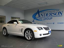 2004 alabaster white chrysler crossfire limited coupe 19223576