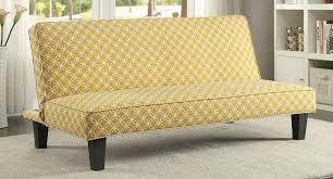 trellis pattern sofa bed mustard coaster furniture furniture cart