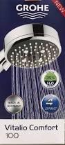Shower Comfort Berlinbuy Grohe 26092000 Vitalio Comfort 100 Hand Shower