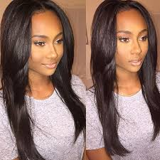 sew in weave hairstyle images simple hairstyle for sew in straight hairstyles ideas about sew in
