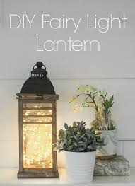 how to make fairy lights how to make a fairy light lantern in 5 minutes lovely etc