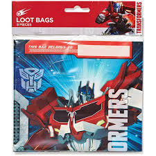 transformers party transformers party favor treat bags 8ct walmart